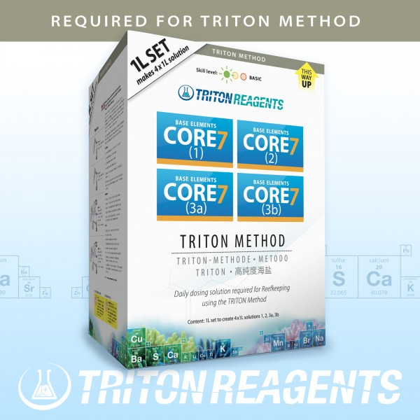 Triton SET Core 7 Base Elements 4x1000ml Tetrapak