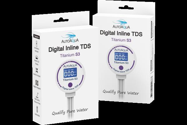 Digital Inline TDS Meter - Titanium S3