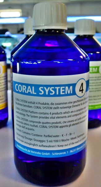 Korallen Zucht Coral System 4 - Coloring Agent 4