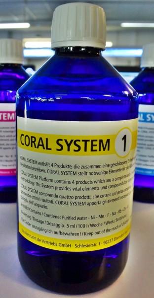 Korallen Zucht Coral System 1 - Coloring Agent 1