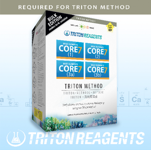 Triton SET Core7 Base Elements Bulk Edition 4x4 Liter