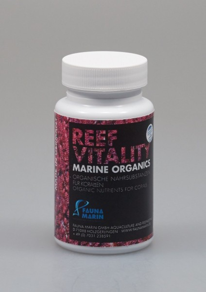 Fauna Marin Reef Vitality Marine Organics 60 Kapseln Wachstums-Booster & Farbverstärker