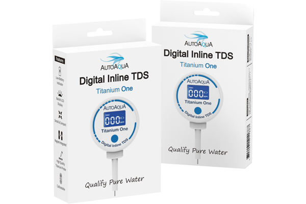 Digital Inline TDS Meter - Titanium One