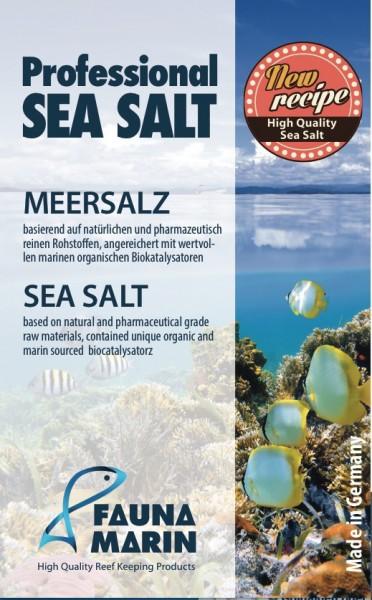 Fauna Marin Professional Sea Salt für den professionellen Aquarianer