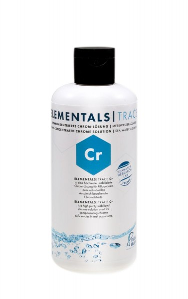 ELEMENTALS TRACE Cr 250ml Hochkonzentrierte Chrom-Lösung für Meerwasseraquarien