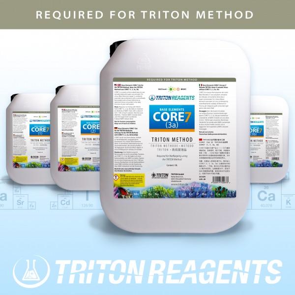 Triton Core 7 Bulk Liquid SET Base Elements 4x5Liter (flüssig) für TRITON Methode