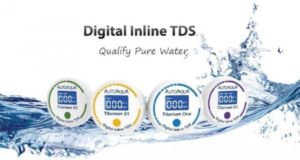 Digital Inline TDS - Titanium S2