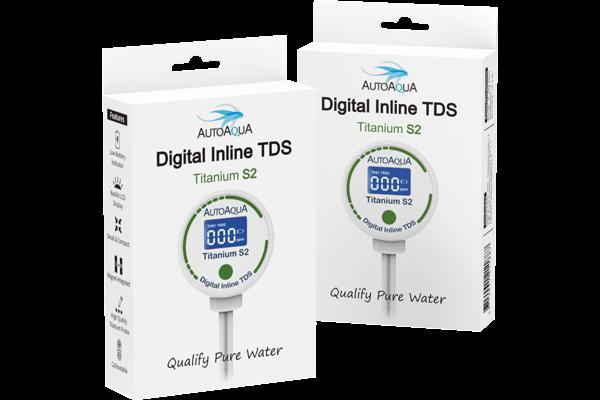 Digital Inline TDS Meter - Titanium S2